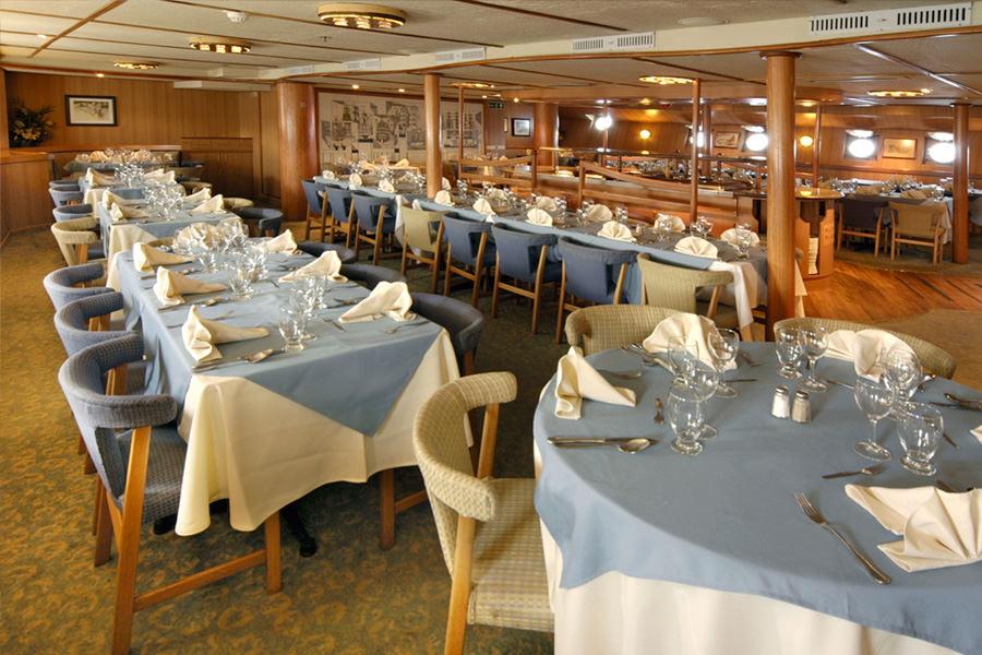 Galapagos Legend Cruise - Dinning
