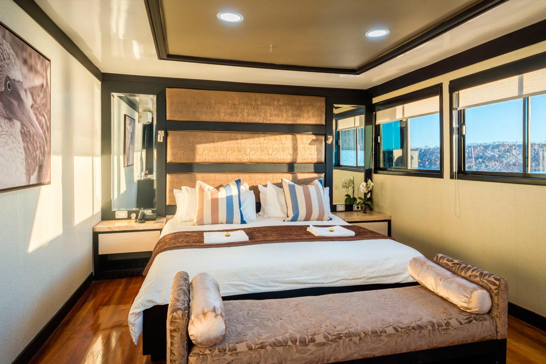 M/Y Sea Star Journey Galapagos Cruise - Matrimonial Cabin