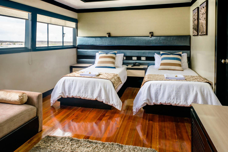 M/Y Sea Star Journey Galapagos Cruise - Twin Cabin