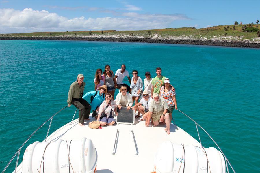 Navigation Galapagos Tour